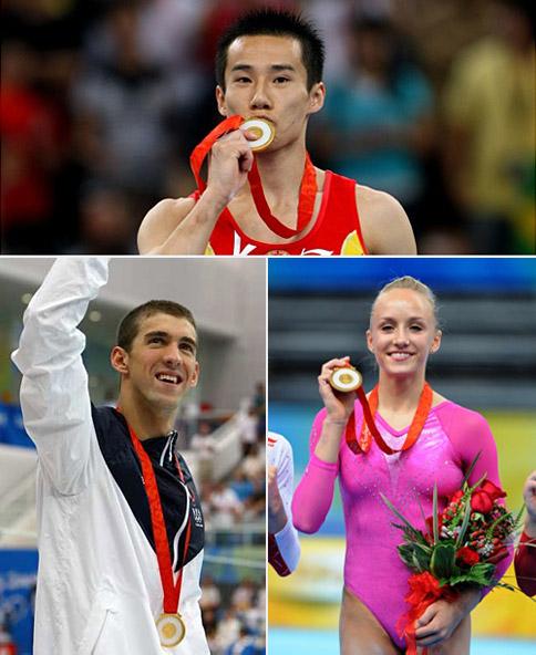 Beijing Olympic medals in jade