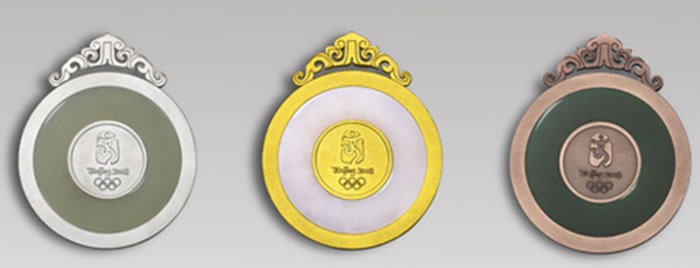 Beijing Olympic gold medals